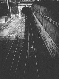 Train Tracks in Seattle - Erin J. Bernard