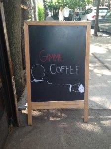 Gimme Coffe - Erin J. Bernard