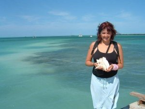 Erin J. Bernard in Belize