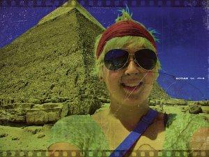 Erin J. Bernard in Egypt
