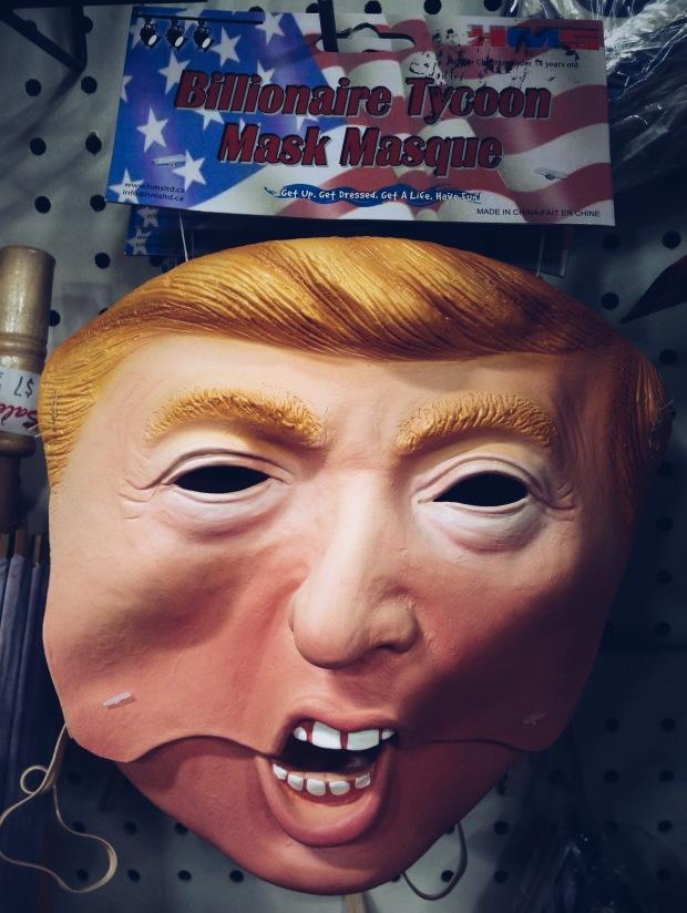 erin j bernard, vsco, trump mask, donald trump mask