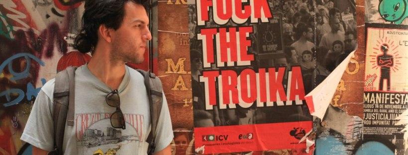 erin j bernard, erinjbernard.net, barcelona, fuck the troika